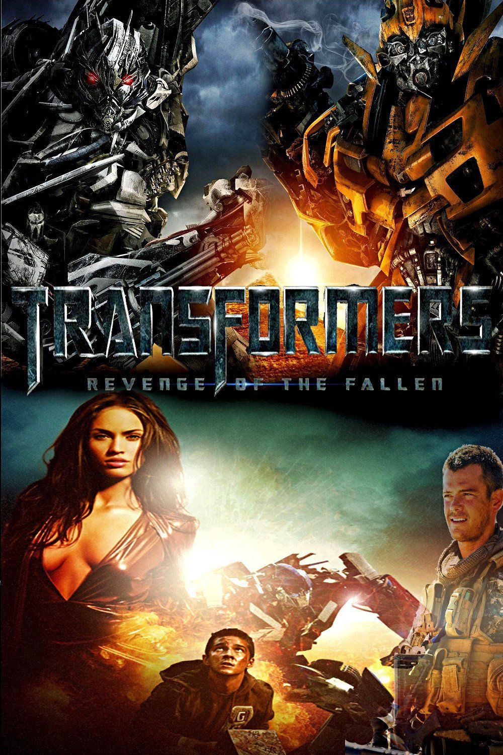Transformers Revenge Of The Fallen 2009 Movie Review Revenge Of The Fallen Transformers Film Best Movie Posters