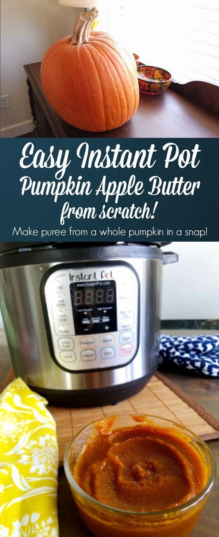 Instant Pot Pumpkin Apple Butter Recipe Apple butter