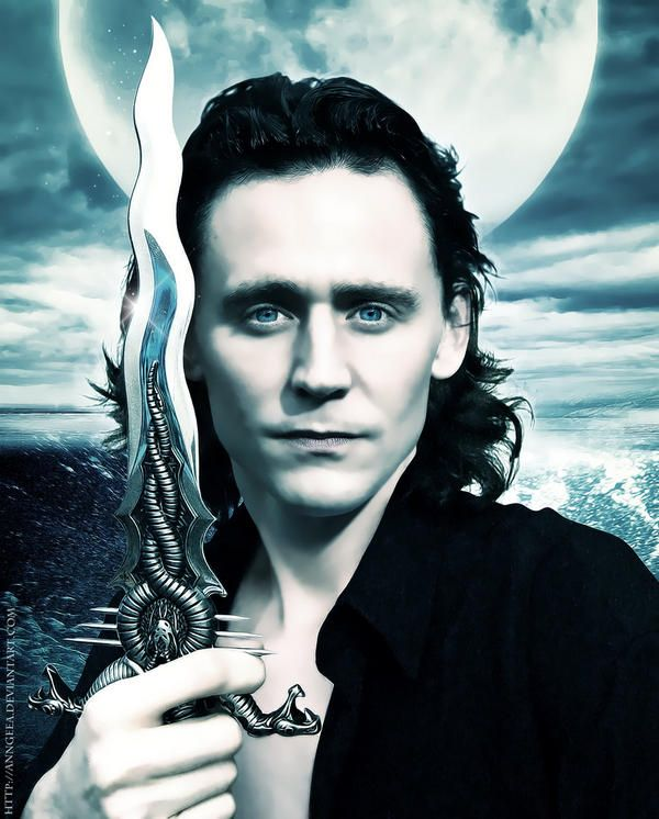 Loki and snake blade