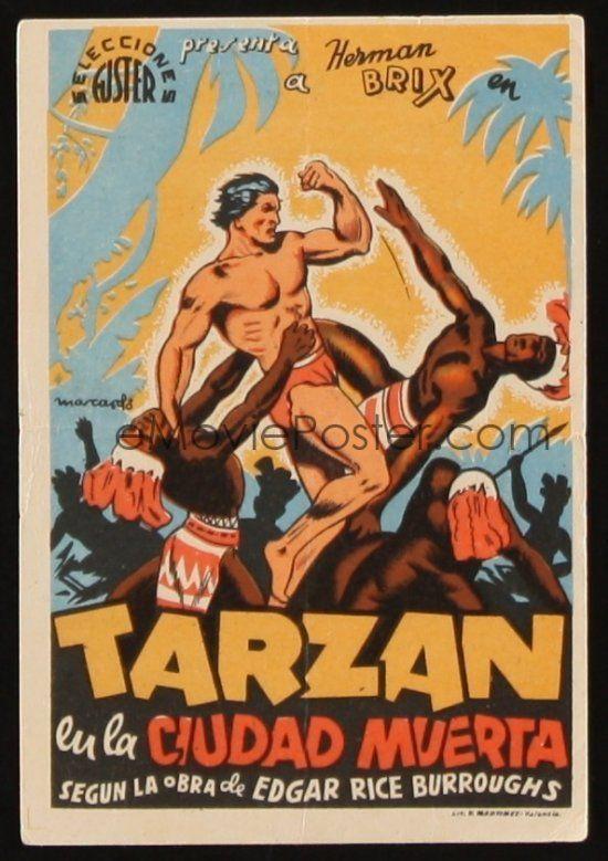 "Spain. ""Adventures of Tarzan"" (US) 1935"