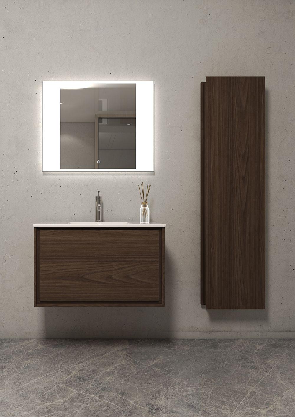 37++ Dark oak wall mounted bathroom cabinet model