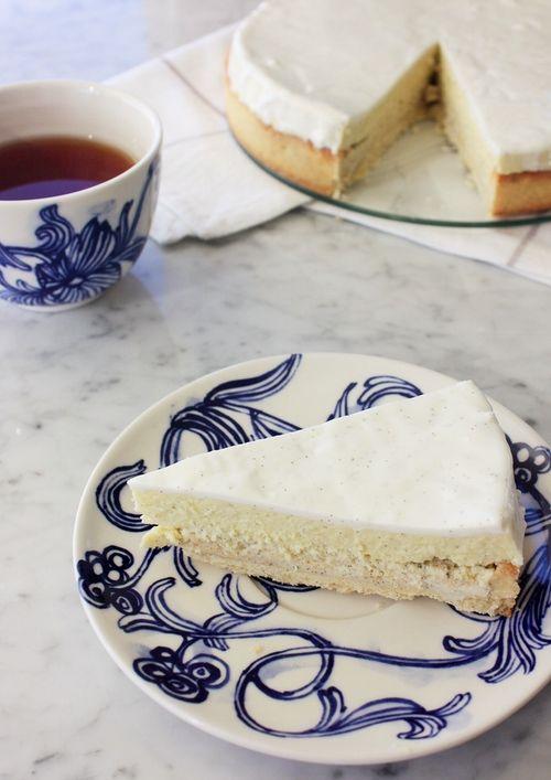 Tarte vanille pierre herme