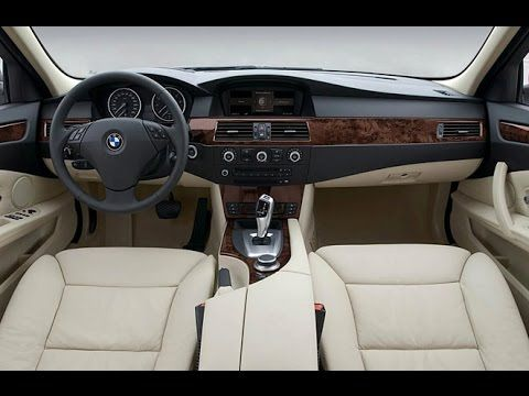 Bmw E60 530i Sedan Saloon Interior Design With Images Bmw E60
