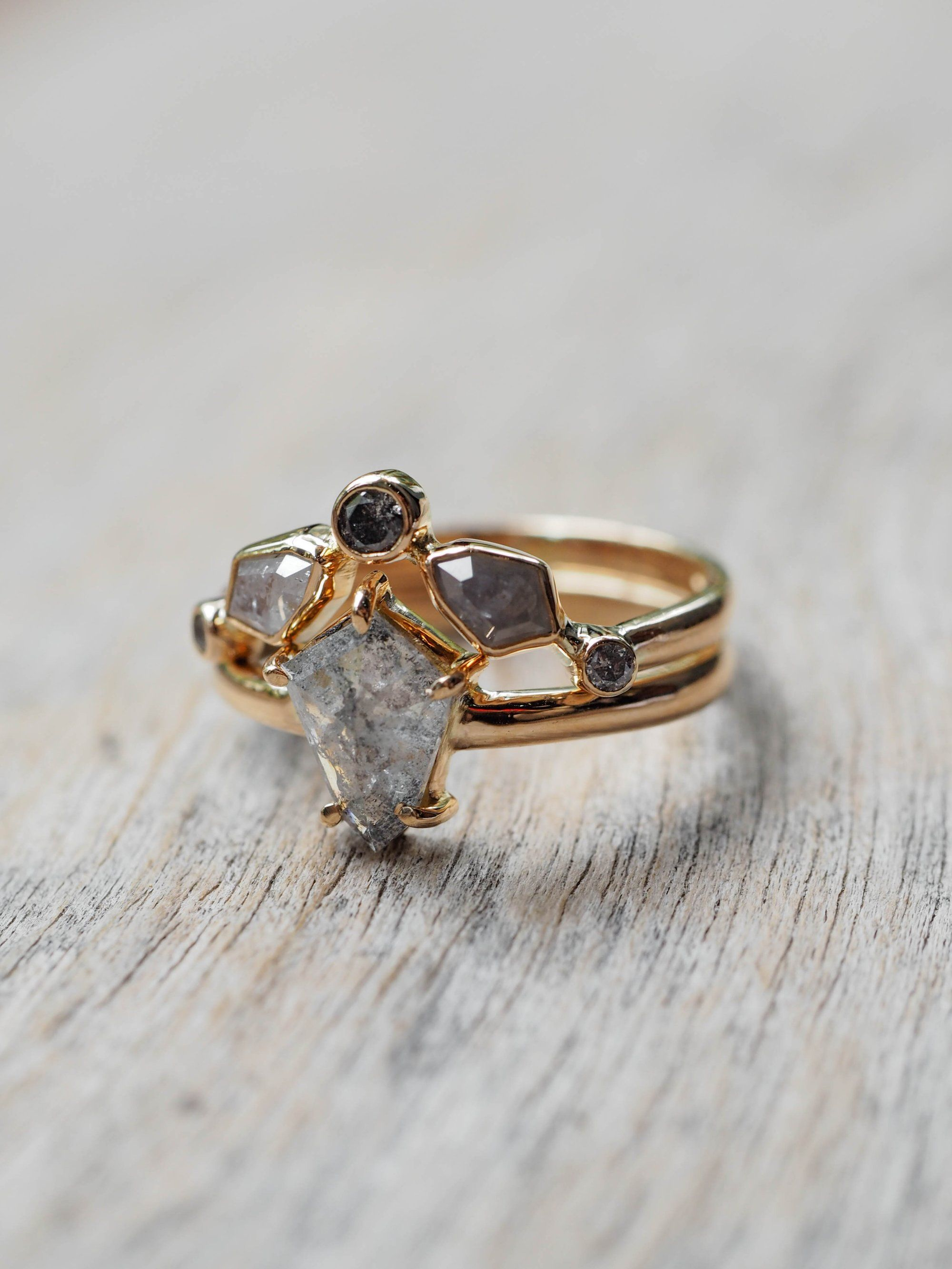 Shield Diamond Ring In Gold Build Your Own Her Beat Her Rhythm Is Your Strength She Rat Tat Tats Through Life All Flamenco D And Dolled Up She Lets You B