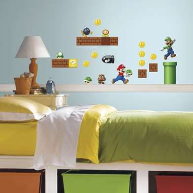 cool RoomMates muursticker - Nintendo - Super Mario - 35 stuks chez on decorations for bedrooms, organization ideas for bedrooms, home decorating ideas bedrooms, diy for bedrooms, office for bedrooms, home improvement ideas for bedrooms, wall decor for bedrooms, curtain ideas for bedrooms, storage ideas for bedrooms, fashion for bedrooms, pinterest for bedrooms, ideas for small bedrooms, travel ideas for bedrooms, interior decorating for bedrooms, art for bedrooms, paint for bedrooms, pillows for bedrooms, lighting for bedrooms, drawing ideas for bedrooms, furniture for bedrooms,