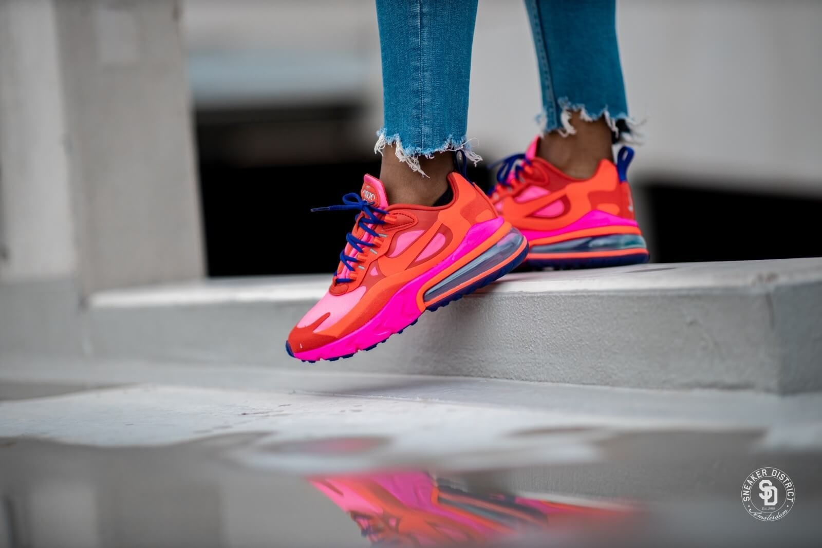 Nike Women's Air Max 270 React Mystic Red/Bright Crimson ...