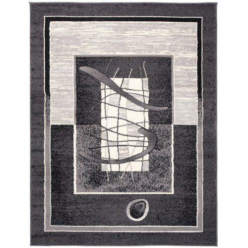 Teppich Taurean in Dunkelgrau 17 Stories Teppichgröße: Rechteckig 180 x 250 cm