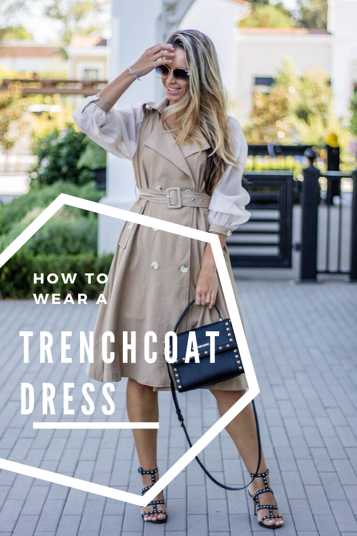 Trench Coats To Wear This Fall Trench Coat Dress How To Wear Trench Coat [ 1102 x 735 Pixel ]