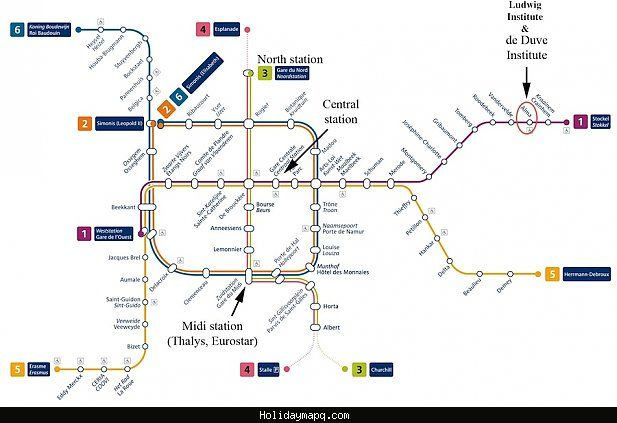 Awesome Brussels Metro Map Metro Map Subway Map Travel Finder