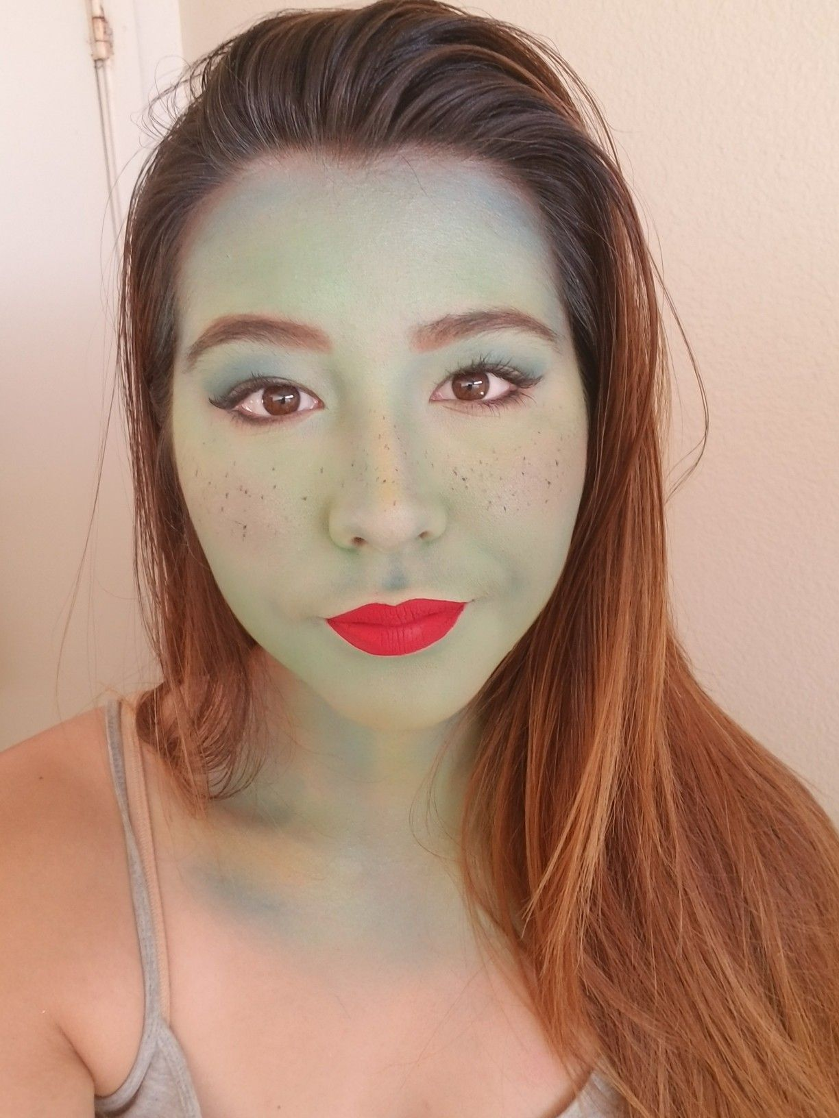 Miss Martian Makeup. Young Justice. Hello Megan. Cosplay.
