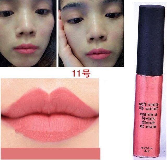 Liquid Matte Lipsticks Long Lasting Waterproof Matt Black Lipstick 12 Colors Velvet Selena Lipstick Matte Lip Makeup Lip Gloss