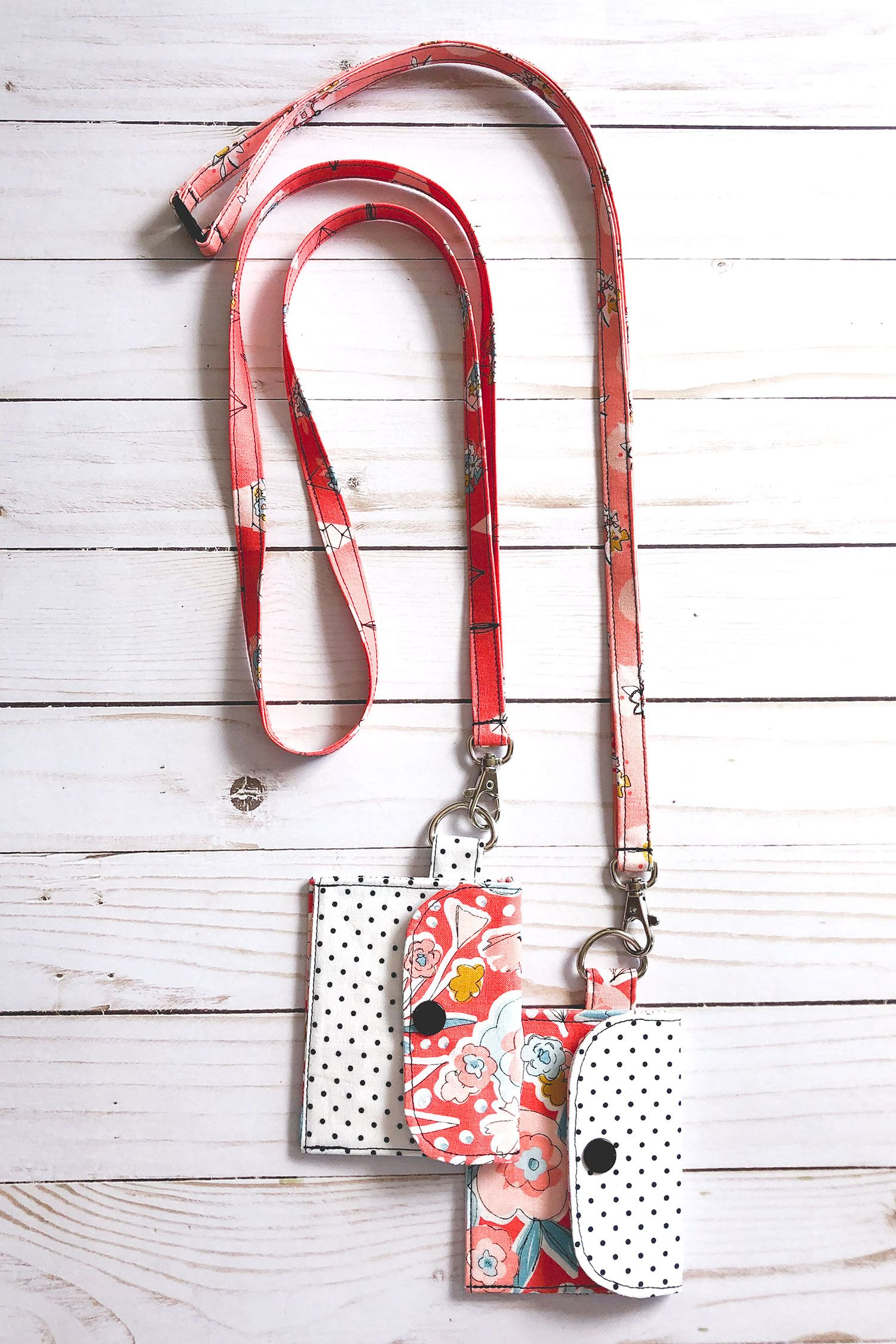 Fabric lanyard tutorial finished two ways ameroonie