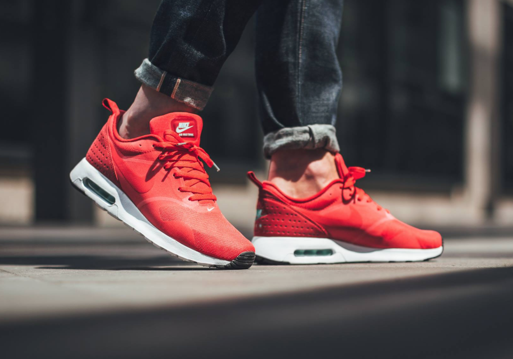 Action Red Coats The Nike Air Max Tavas