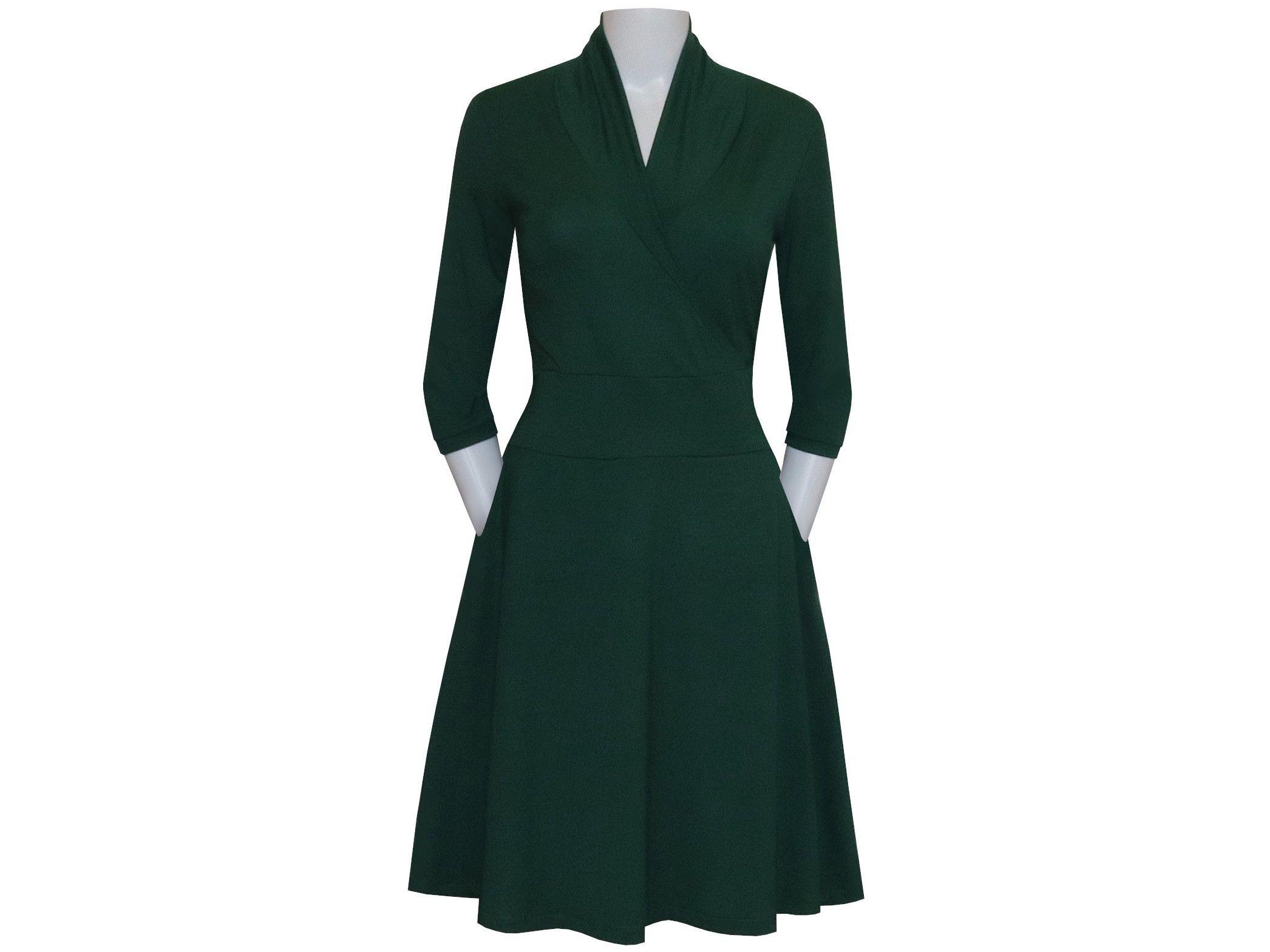 Kleid Kim mit Taschen  Kleider, Herbstkleid, Herbst kleid