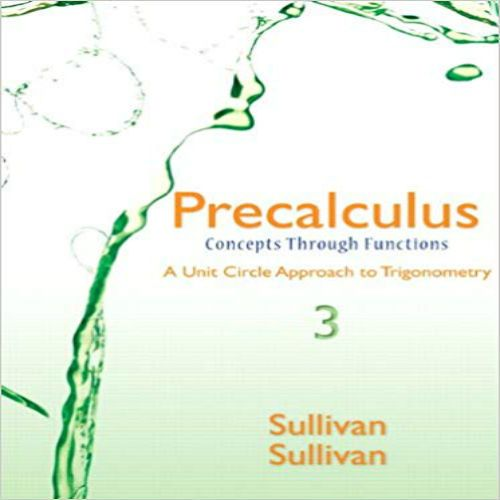 Solution Of Precalculus Michael Sullivan 8th Edition Pdf