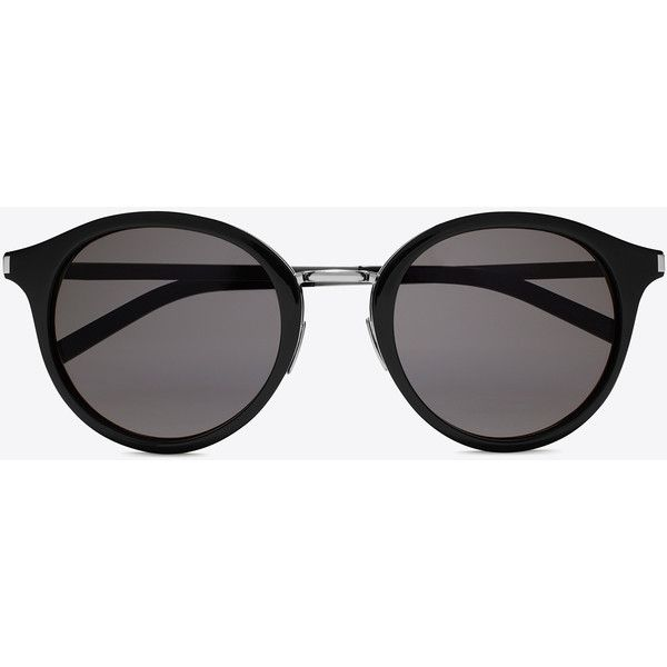 256f50f443e Saint Laurent Classic 57 Sunglasses ($385) ❤ liked on Polyvore featuring  accessories, eyewear, sunglasses, glasses, óculos, yves saint laurent  sunglasses, ...