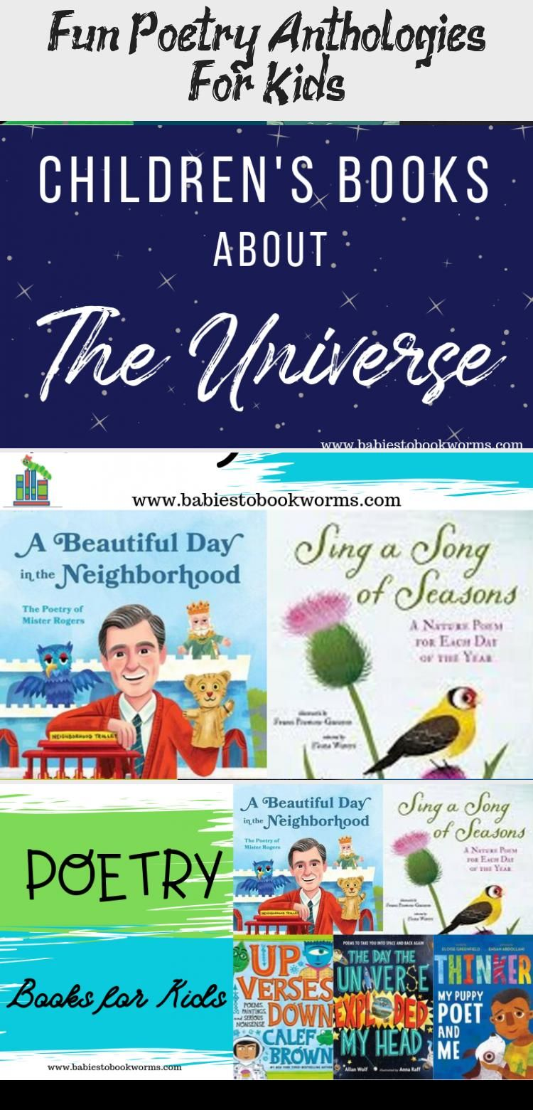 Get kids interested in poetry with these fun poetry anthologies for kids