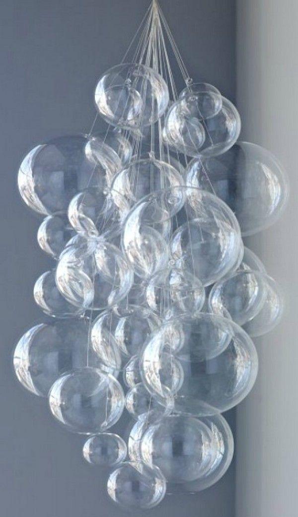 DIY Kronleuchter  32 einfache und schöne Ideen die Sie ausprobieren können #bubblekronleuchter