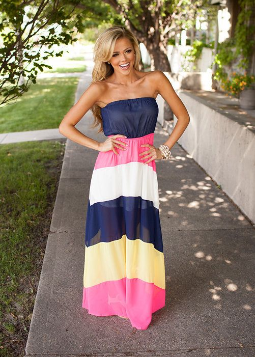 Online boutique. Best outfits. Dangerously Beautiful Maxi Hot Pink - Modern Vintage Boutique