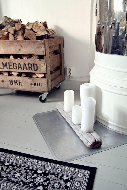 Formas De Guardar Lena En Casa Con Estilo Barcelonette Bastidor Para La Lena Almacenamiento De Lena Almacenamiento De Madera