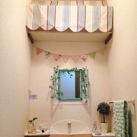 トイレ おしゃれ かわいい トイレ