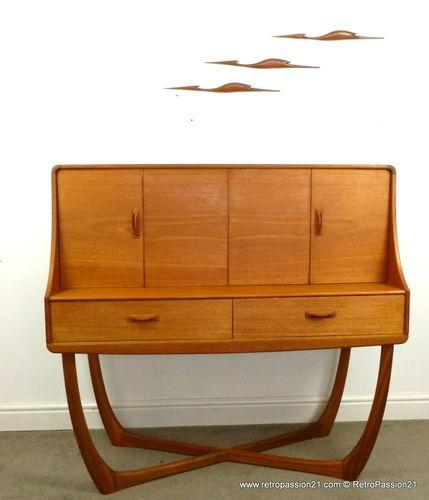 Sofa For Sale In Wolverhampton: Beithcraft Organic Teak Sideboard / Highboard