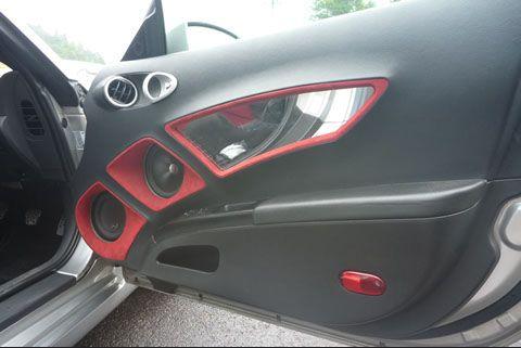 An Awesome Custom Door Panel Custom Car Audio Car Audio Systems Custom Car Interior