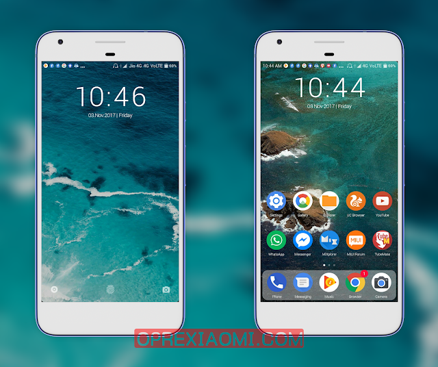 MIUI V9 Thema Android X Mtz Full New Features Update For