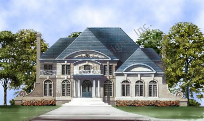 Hepplewhite Traditional House Plans Luxury House Plans Luxury