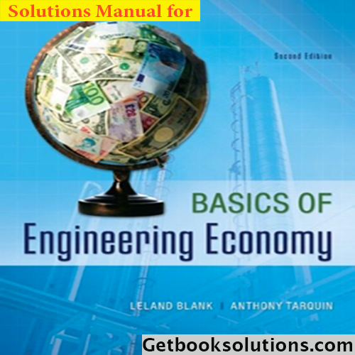 Solution manual basics of engineering economy 2nd edition by leland solution manual basics of engineering economy 2nd edition by leland blank and anthony tarquin fandeluxe Gallery