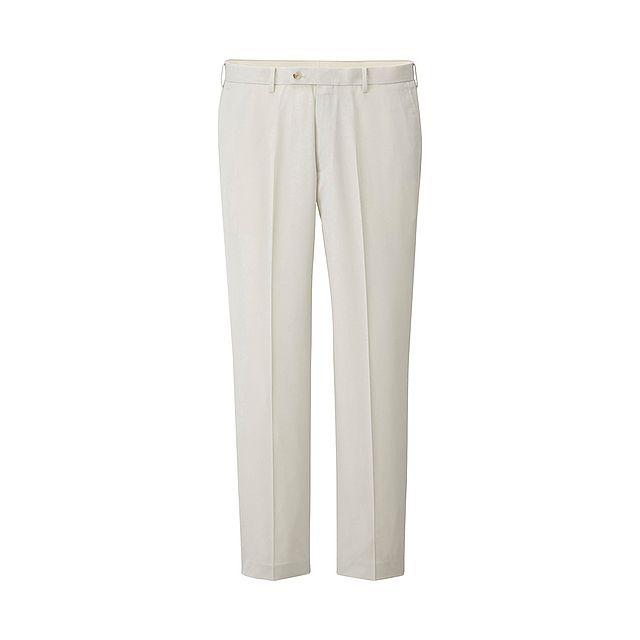 MEN Flat Front Trousers-UNIQLOUKOnlinefashionstore