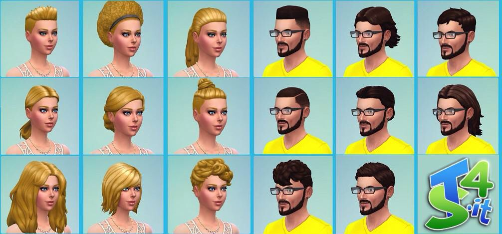Get to work hairstyles female and male