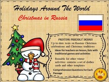 Christmas in russia packing list template russia and reading christmas in russia m4hsunfo