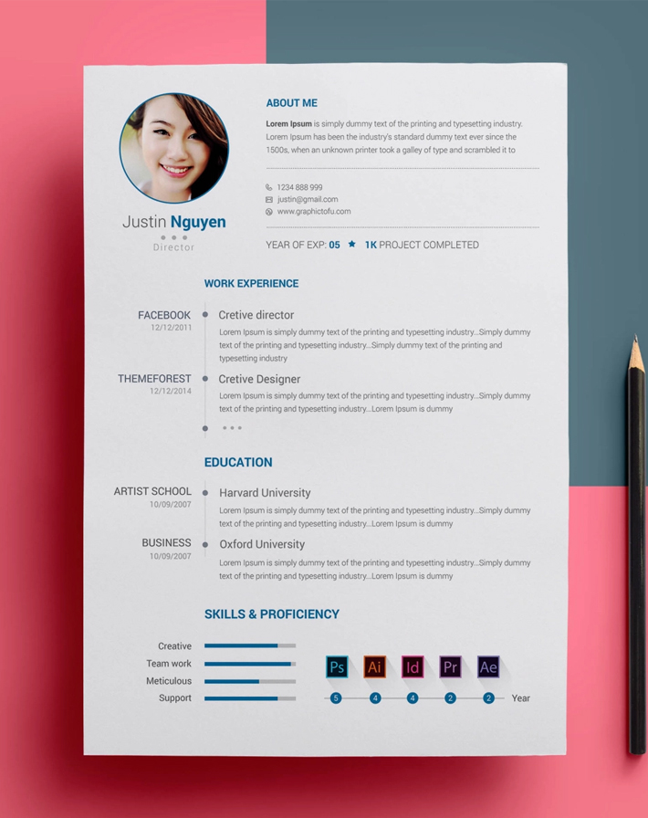 Simple Attractive Resume Cv Template Free Download Freebies Cv Templates Free Download Cv Template Free Cv Template