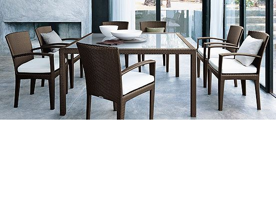 Panama is a classic from dedon and richard frinier for Dedon muebles