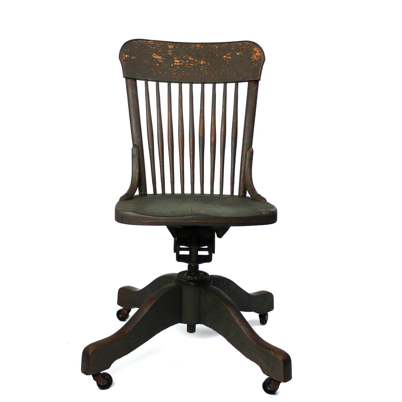 antique wood office chair. Vintage Wood Desk Chair Antique Office U