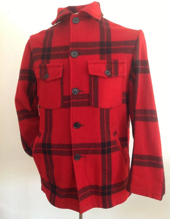 3951c6f5bc2 Vintage H. W. Carter  amp  Sons wool hunting jacket for sale in my shop  for