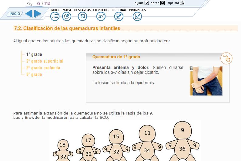 Ejemplo de curso interactivo multimedia (CIM) de #Forsalud