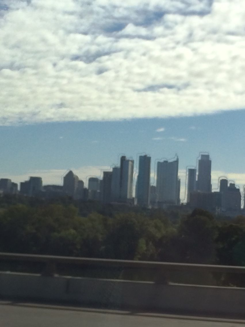 Skyline view of Austin