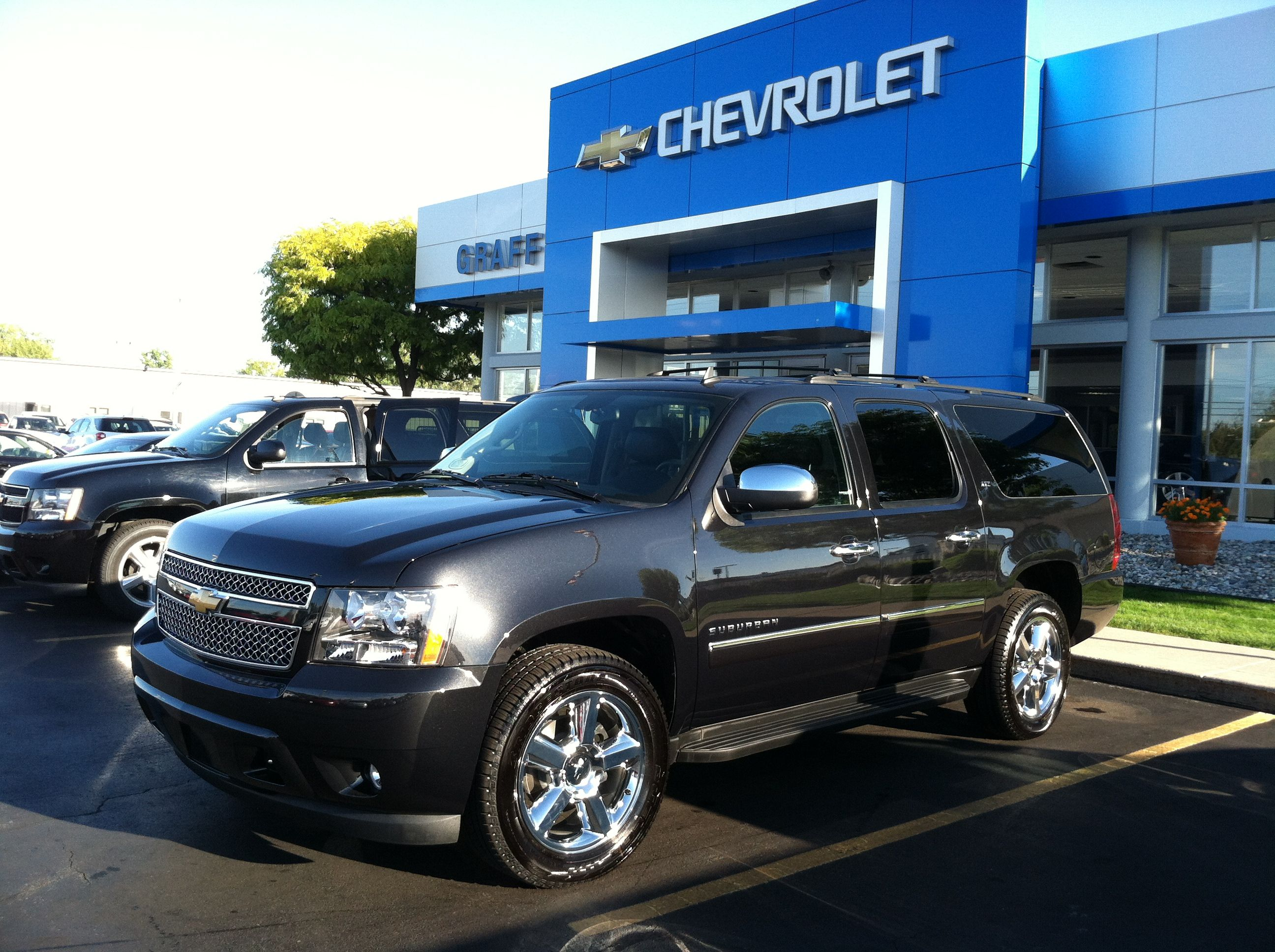 2013 Suburban Ltz Black Granite Www Graffbaycity Com Chevrolet