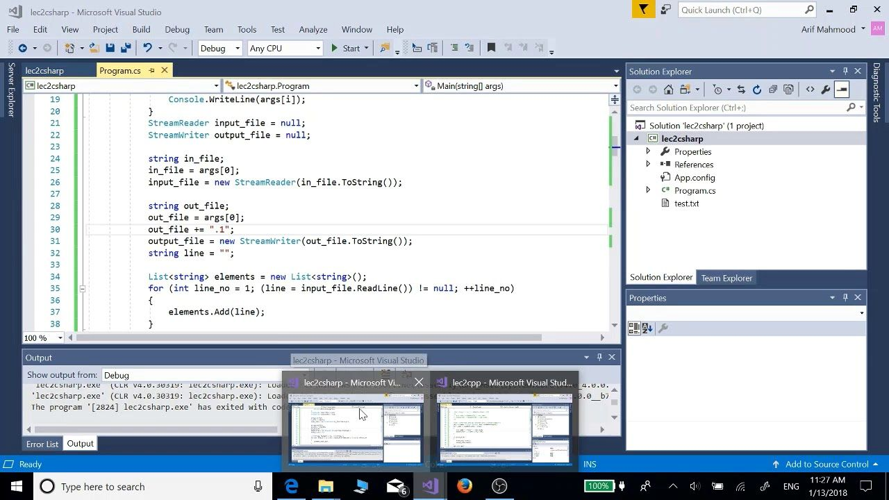 Vectors Lists in c++ and c with iterators foreach 4