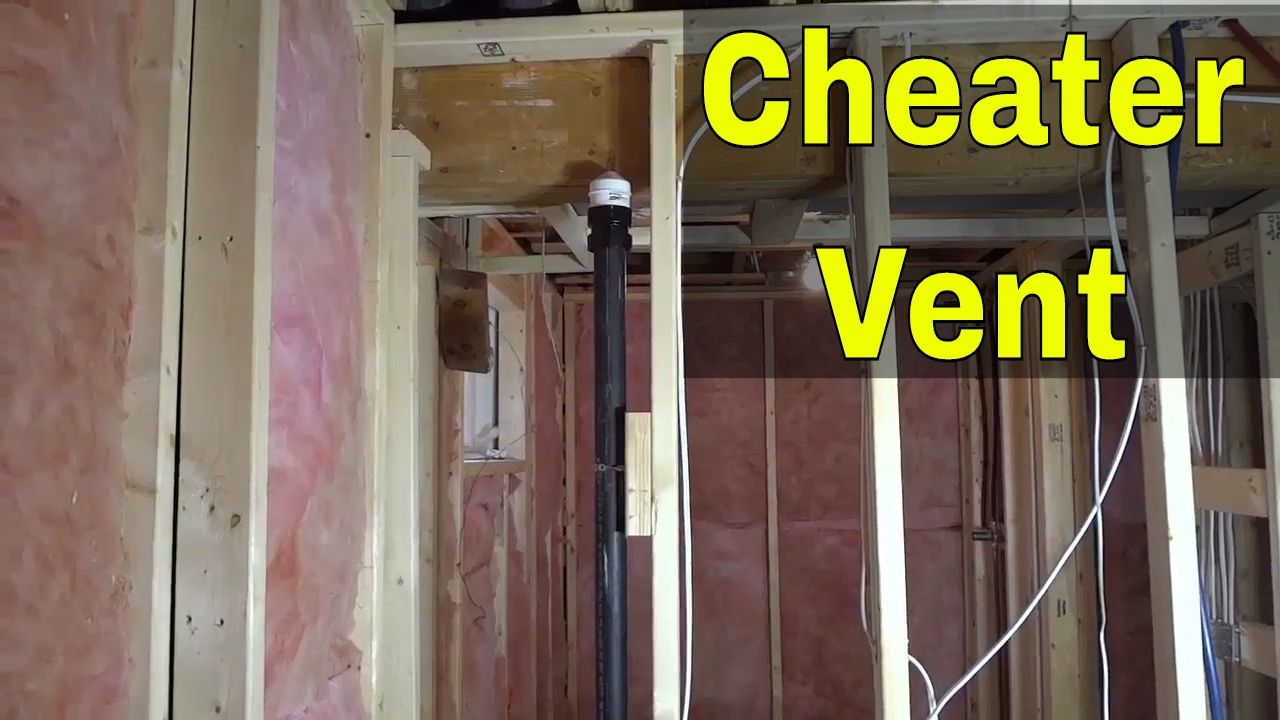 Cheater Vent For PlumbingHow It Works (AKA Air Admittance