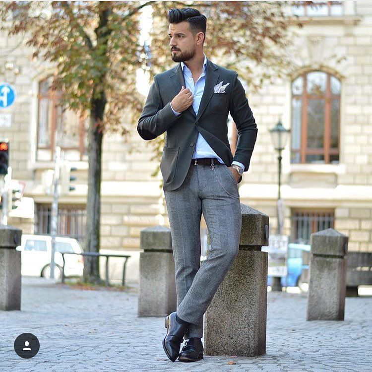 "1,405 Likes, 19 Comments - ⚜️ Men's Fashion Posts ⚜️ (@suit_style7) on Instagram: ""No suit today, just an elegant white shirt with a Hermes belt 👔👌 by @mensfashion.it #elegant…"""