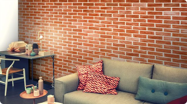 Wall Textures Inspired From Stone Finishes Textured Walls Brick Texture Asian Paint Design
