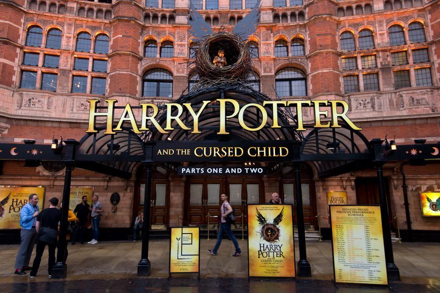 Potterhead Performing Arts Harry Potter And The Cursed Child Breaks A Big Record Harry Potter Play Harry Potter Cursed Child Cursed Child