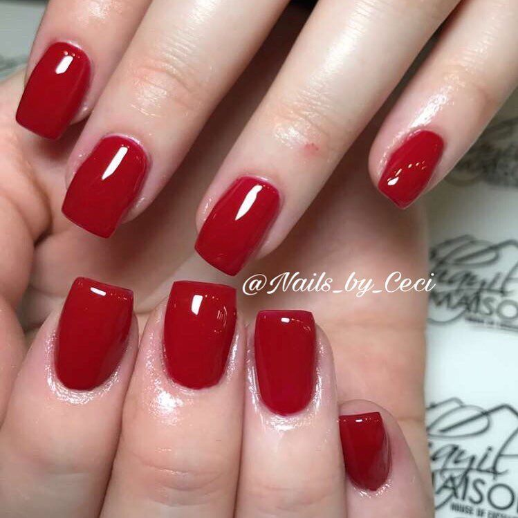 Fake Nail Ideas Prom Nails Red Short Acrylic Nails Red Nails
