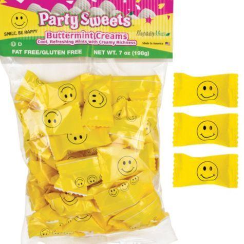 Smiley Face Mints