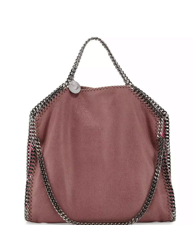 cd124030e6 Stella McCartney Falabella Small Colorblock Fold-Over Tote Bag