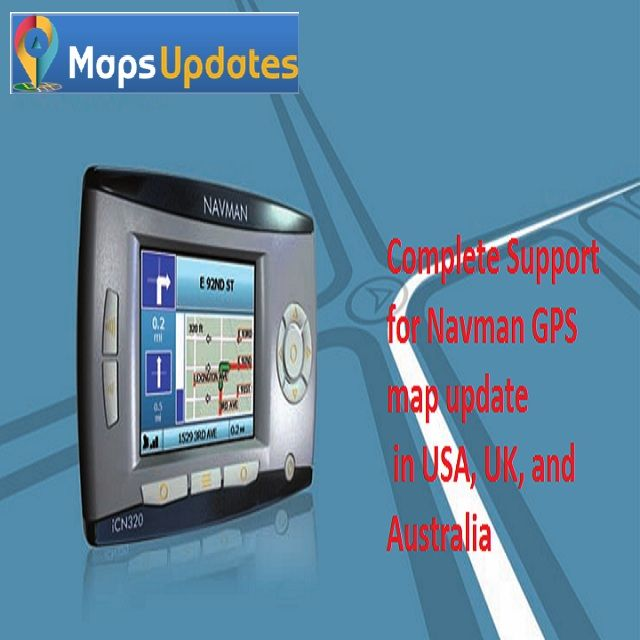 Navman GPS map update, Maps Technical Support by MapsUpdates