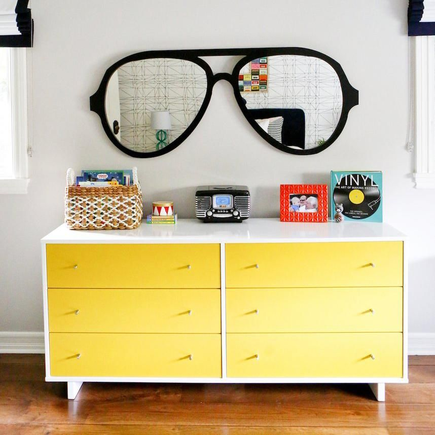 aviator glasses wall decor in black big kids room whats on wall of moms id=31972